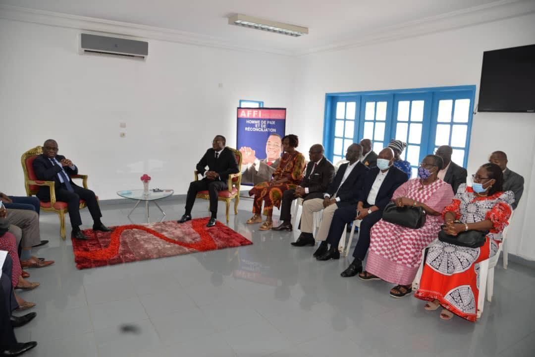 «Si la mission» de KKB «réussie la Côte d'Ivoire sera en paix» (Théophile Ahoua N'Doli)
