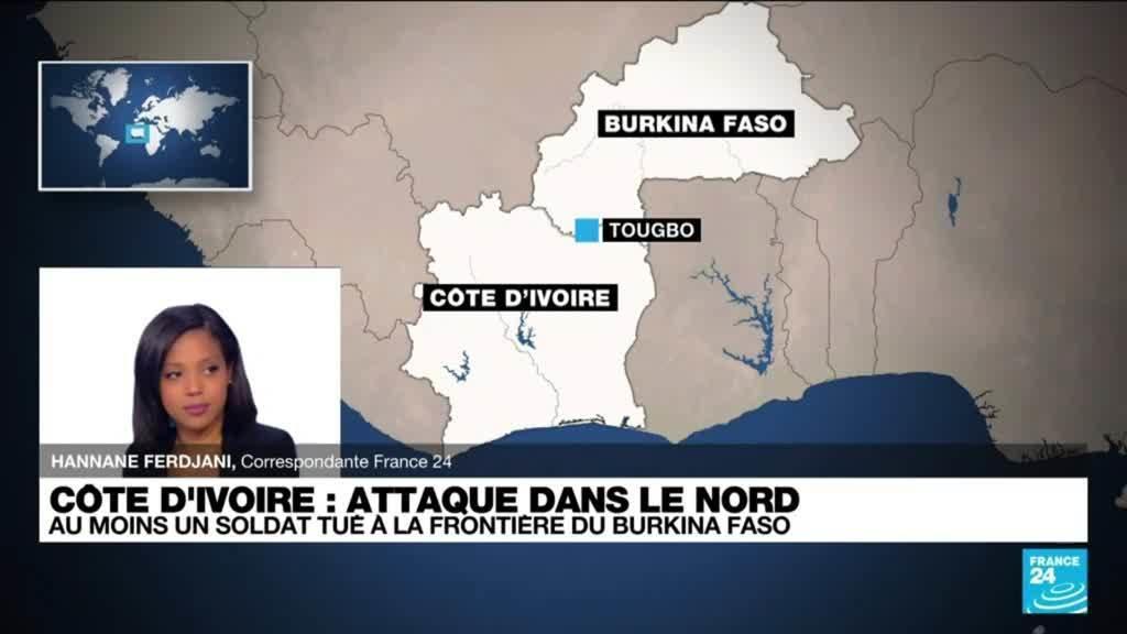 Attaque dans le nord de la Côte-d'Ivoire : au moins un soldat tué à la frontière du Burkina Faso