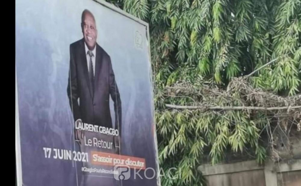 Côte-d'Ivoire: Les affiches de Gbagbo déchirées n'avaient pas l'aval et la signature du Conseil supérieur de la publicité selon le régulateur