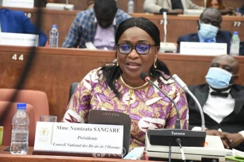 La Côte-d'Ivoire n'a pas encore fini avec ses vieux démons, selon le Conseil National des Droits de l'Homme (CNDH)