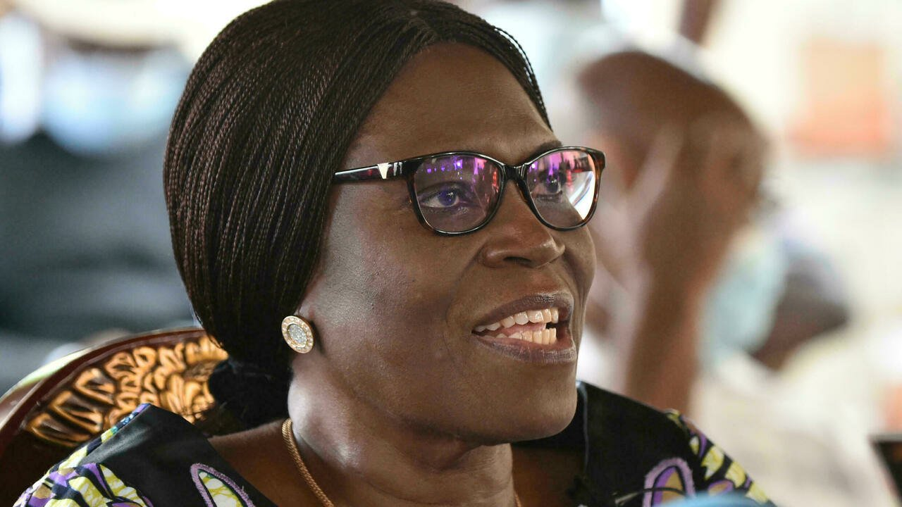 rare apparition de Simone Gbagbo