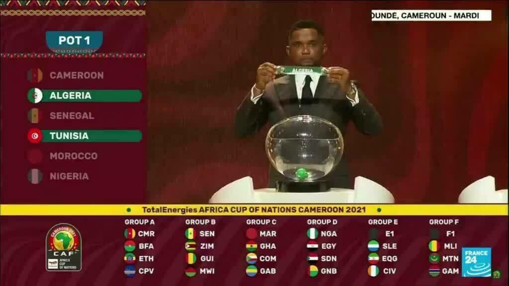 Football - CAN : l'Algérie dans le groupe de la Côte d'Ivoire, tirage clément pour le Cameroun