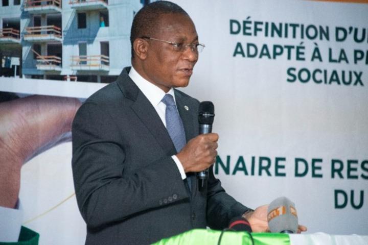 Côte d'Ivoire : À la cérémonie de restitution du CNP-PPP, Bruno Koné insiste sur les propositions relatives à la production de logements économiques et sociaux de masse