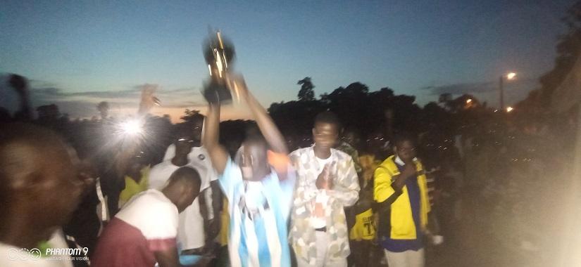 FC Agniassikassou vainqueur du tournoi de football de la cohésion à Daoukro