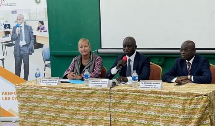 Côte d'Ivoire : En attendant l'élaboration de la situation patrimoniale de l'Etat, l'Institut des Finances renforce les capacités des nouveaux gestionnaires de patrimoine nommés