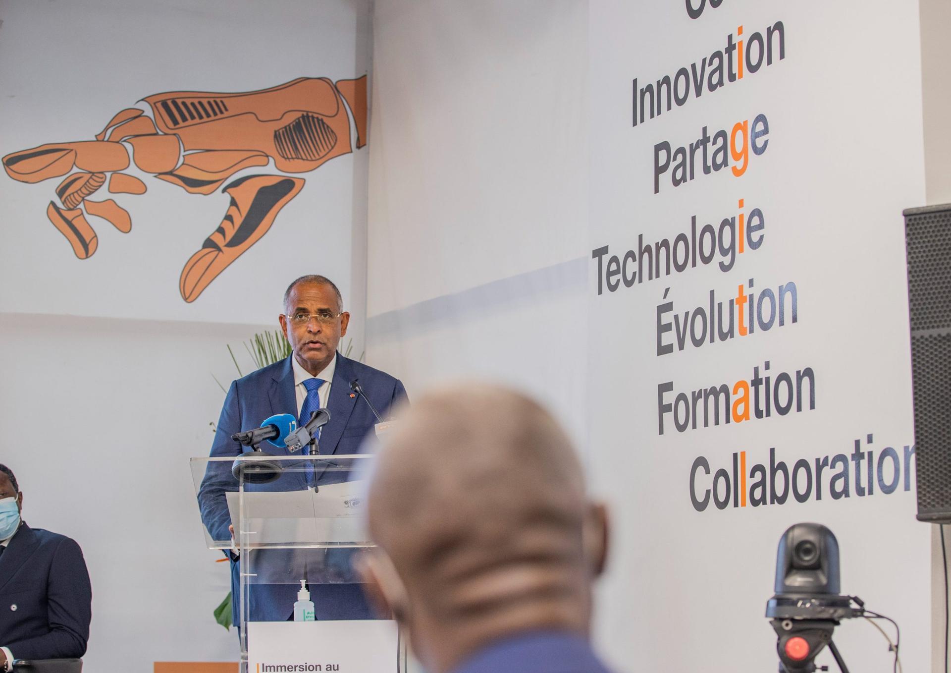 Orange Côte-d'Ivoire et Amazon Web lancent le Digital Center d'Abidjan