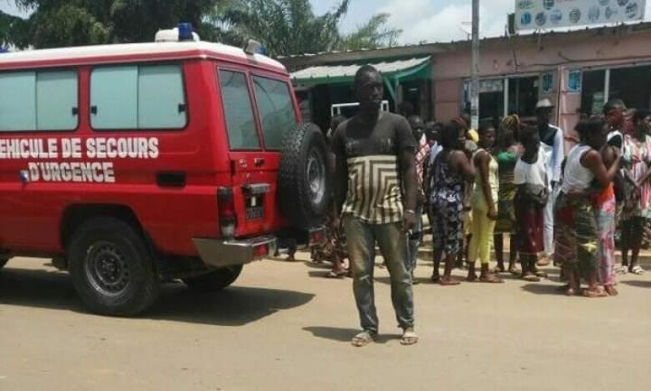 Côte d'Ivoire : Bingerville, un tricycle percute mortellement une fillette