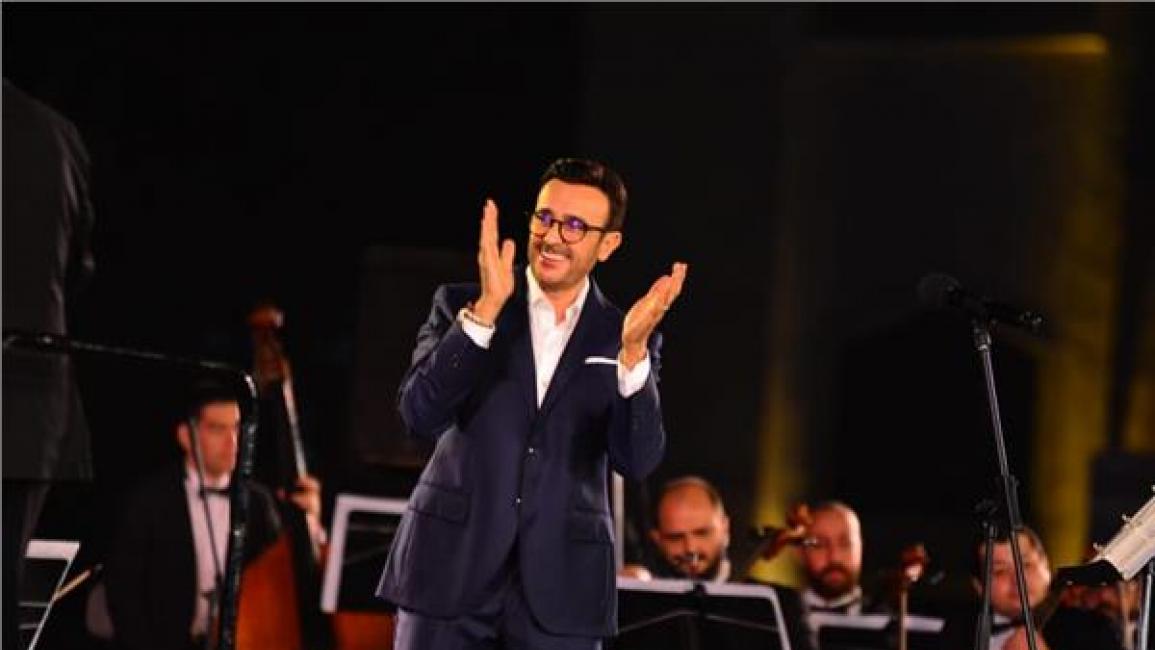 صابر الرباعي يختتم مهرجان الموسيقى العربية في القاهرة