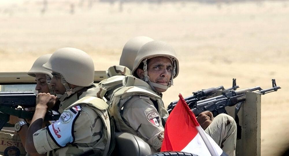 بيان من الجيش المصري بشأن انفجار خط غاز سيناء