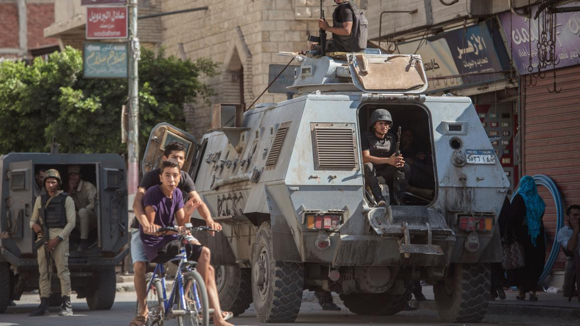 عمليات للجيش المصري تكشف سيطرة