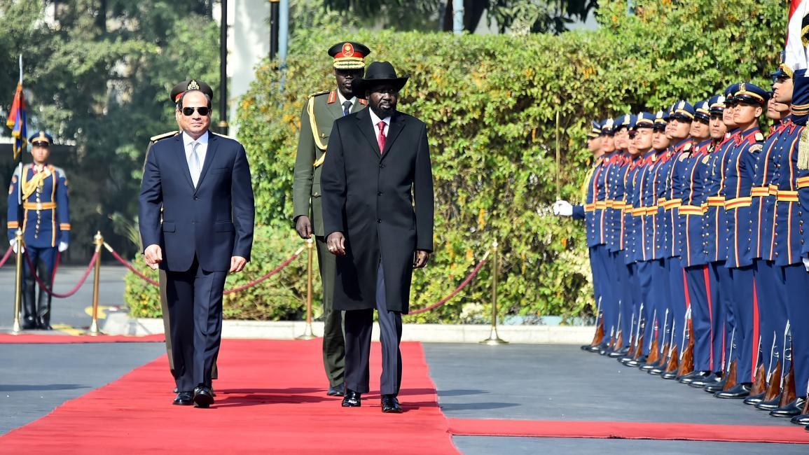 السيسي يزور جنوب السودان ويبحث مستجدات سد النهضة مع سيلفا كير