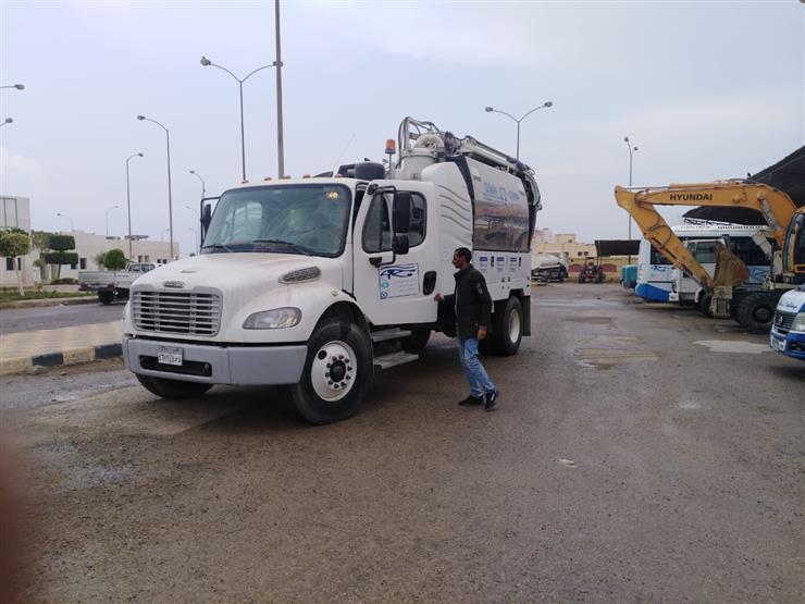 فرق الطوارئ وتطهير الصرف.. أجهزة المدن الجديدة ترفع درجة الاستعداد لمواجهة الأمطار