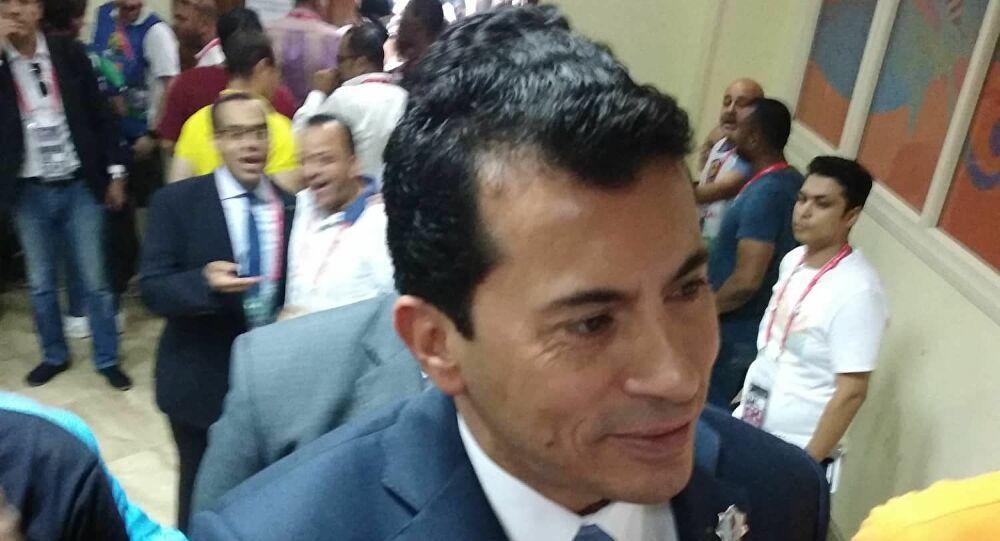 وزير الشباب والرياضة المصري لـ