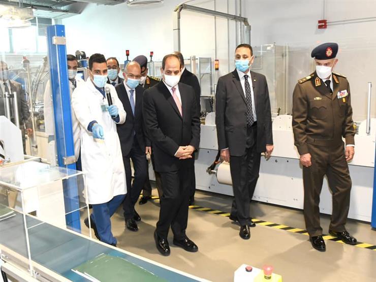بسام راضي ينشر صور افتتاح الرئيس السيسي