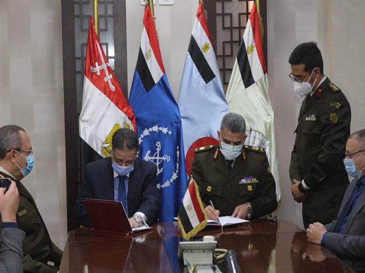 صور.. القوات المسلحة توقع بروتوكول تعاون مع جامعة الدلتا للعلوم والتكنولوجيا