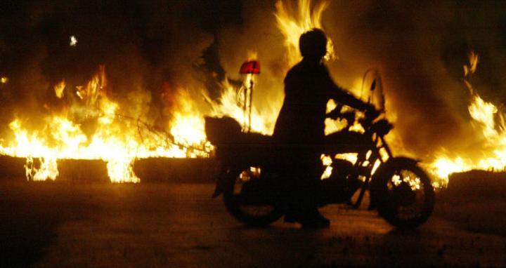 """مصر… اندلاع حريق بأحد """"المولات"""" التجارية"""