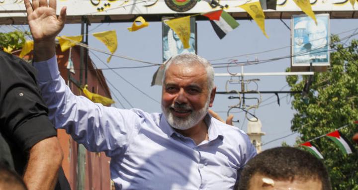 حماس تعلن تفاصيل لقاء هنية مع رئيس المخابرات المصرية