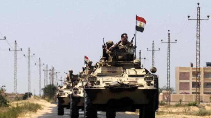 قصف جوي مصري على شمال سيناء