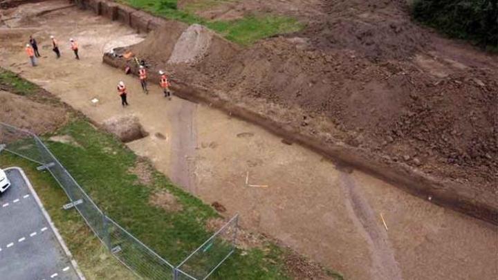 آثار رومانية اكتشفت حديثاً في هولندا عرضة للزوال بسبب سدّ