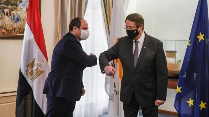 تطمينات مصرية لقبرص بشأن تركيا مقابل الدعم في الاتحاد الأوروبي