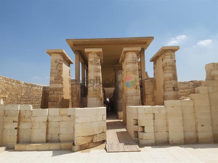 ننشر أول صور من مقبرة زوسر بعد افتتاحها أمام الجمهور