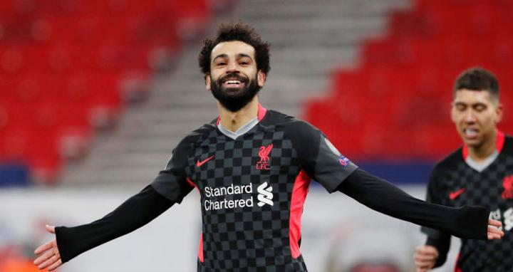 ليفربول يحتفي بمحمد صلاح بعد تسجيله 100 هدف في الدوري... صورة