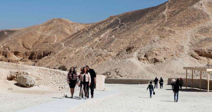 مصر تفتتح مقبرة أثرية للسياح بعد 15 عاما من ترميمها... صور