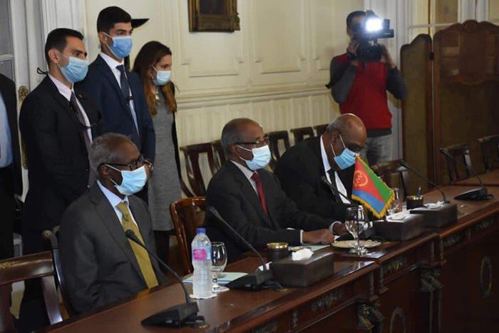 Eritrea's delegation visit Egypt