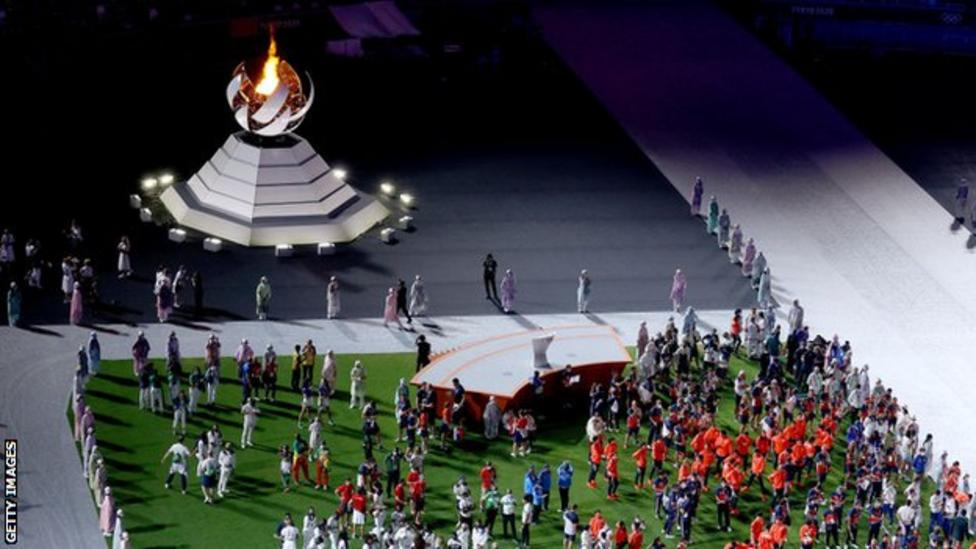 Tokyo Olympics: Closing ceremony marks end of behind-closed-doors Games