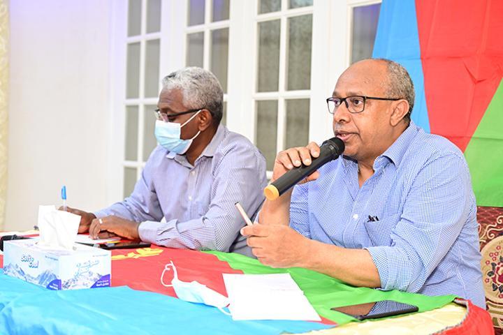 Meeting on strengthening organizational capacity