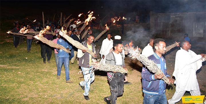 "Celebrations of ""Kudus Yohannes"" in Eritrea"