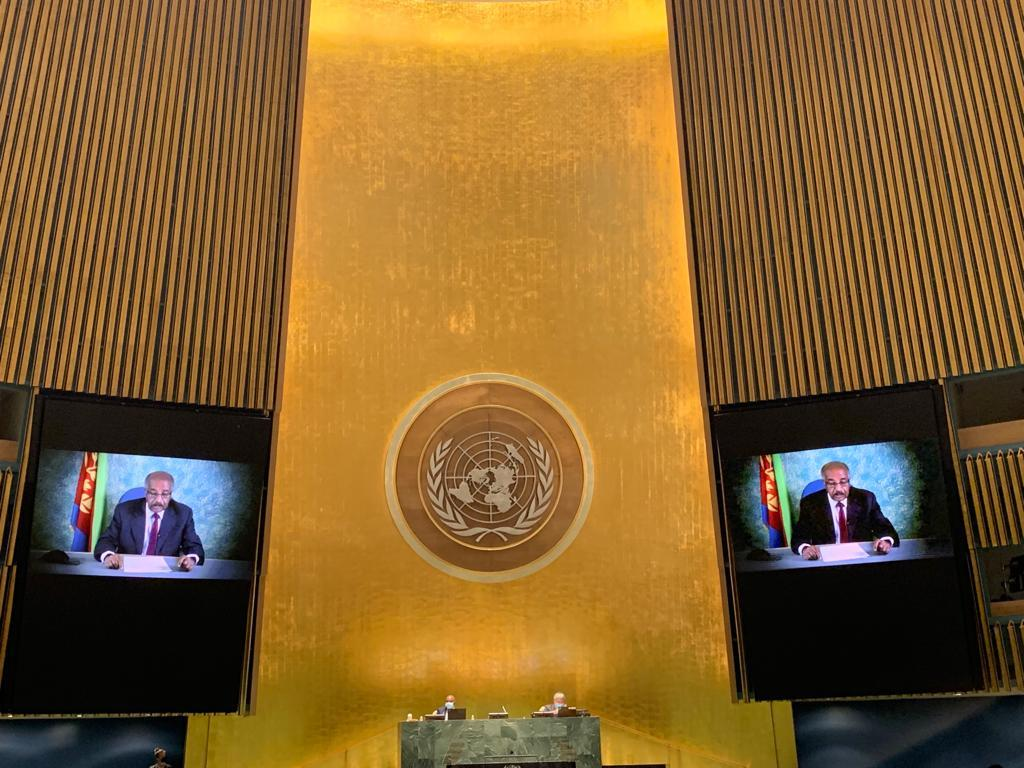 Statement by Eritrea's Foreign Minister, H.E. Osman Saleh, to 76th General Assembly of the United Nations