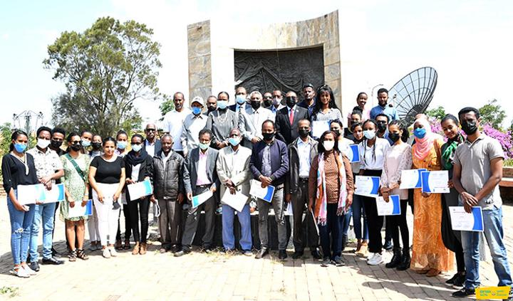 Training to develop capacity of journalists