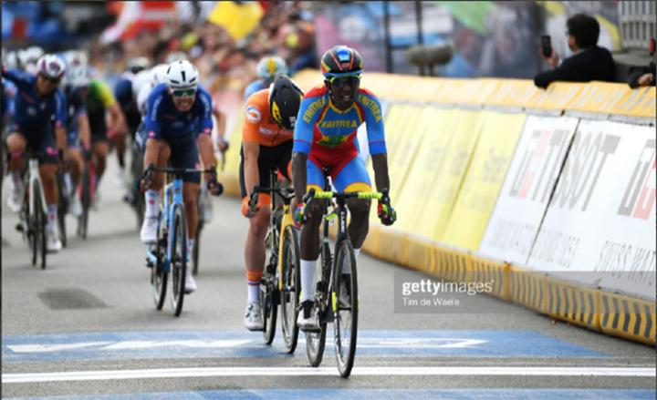 Biniam Girmay: The Silver Medal is for Eritrea and for Africa