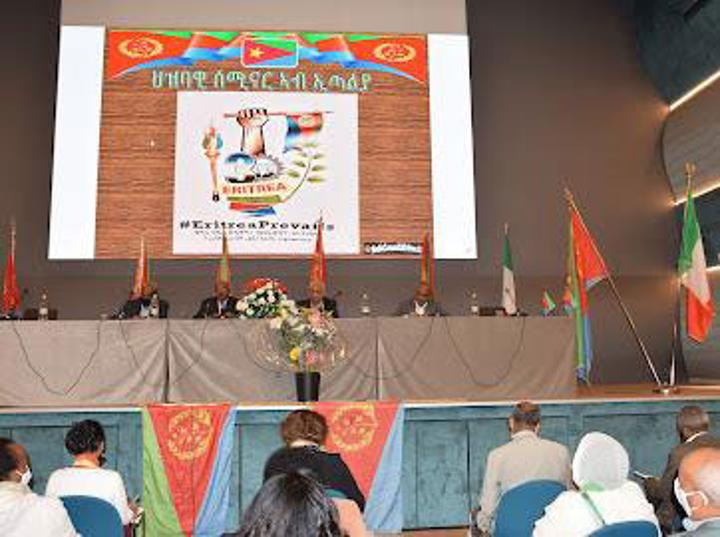 FM Osman Saleh conducted a seminar to nationals in Italy