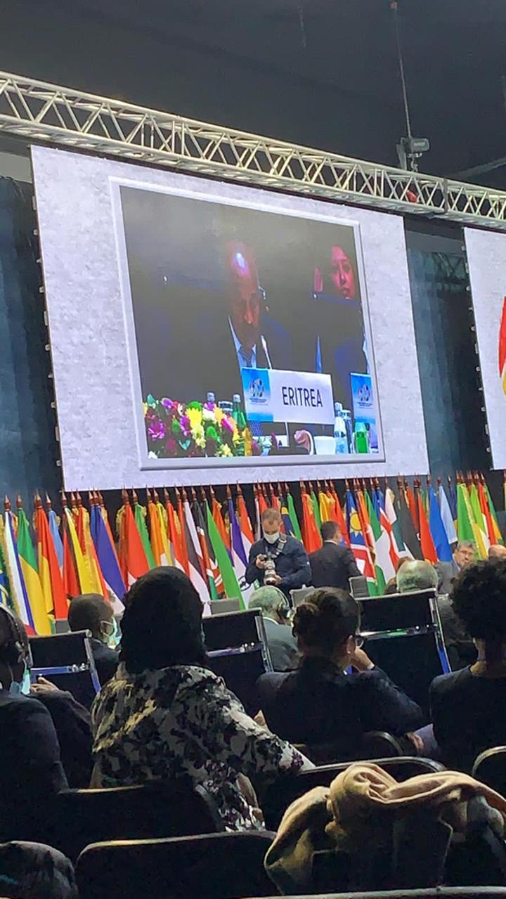 Remarks by H.E. Osman Saleh Minister of Foreign Affairs of the State of Eritrea At the Sixtieth Commemoration of the Non-Aligned Movement Belgrade11-12 October 2021