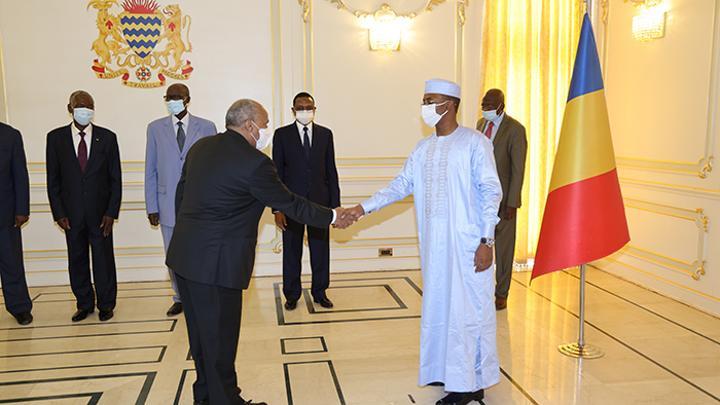 Ambassador Isa Ahmed Isa presents credential