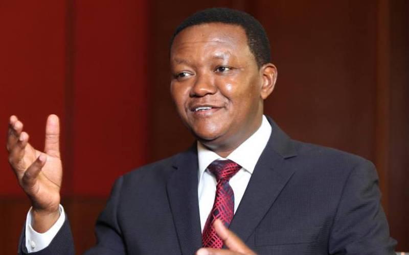 Governor Alfred Mutua
