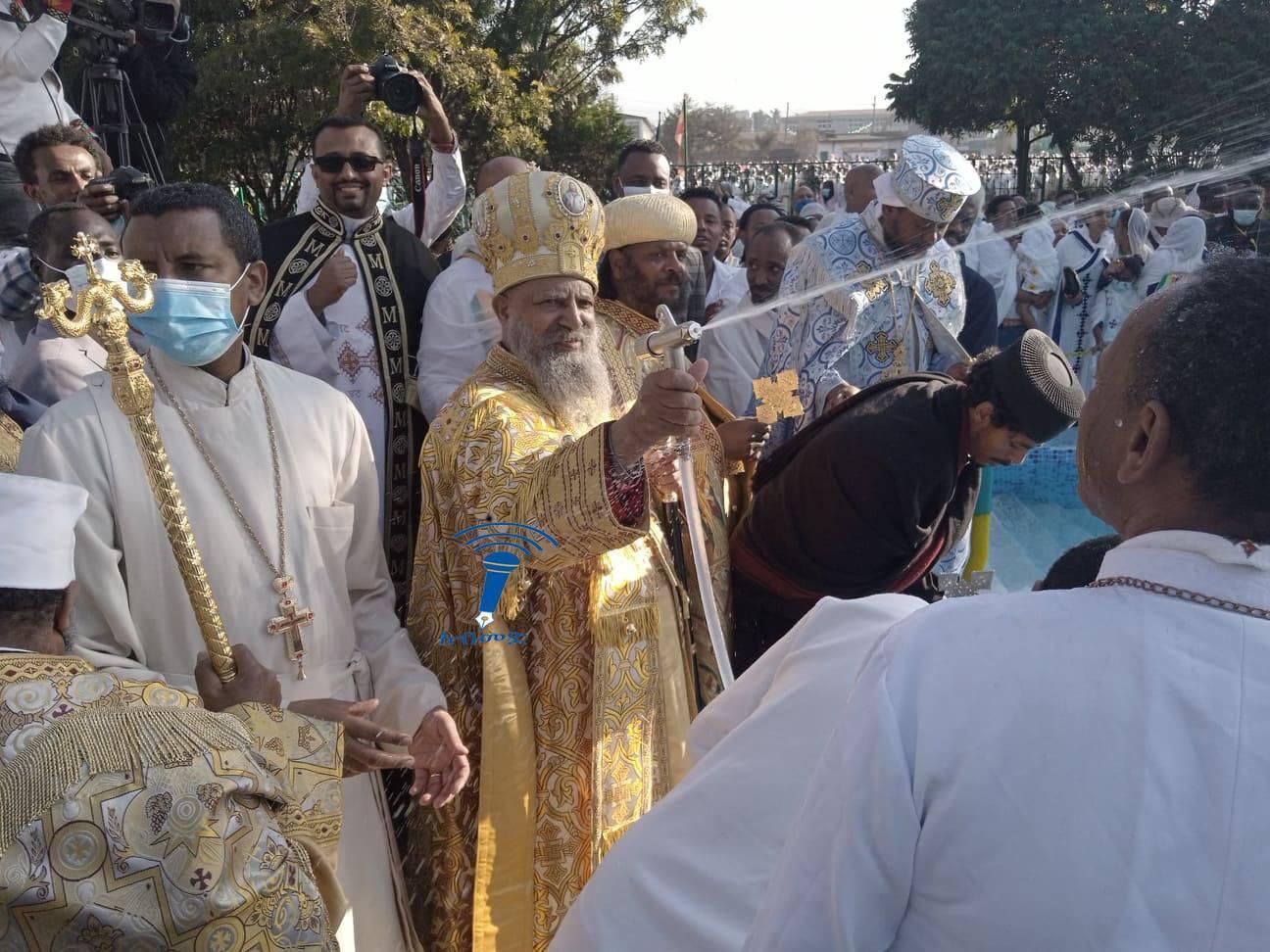 Ethiopian Christians Celebrate Timket Festive