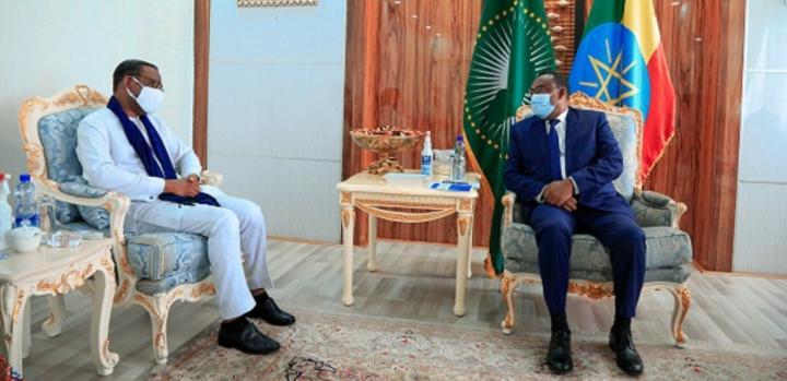 Deputy PM & FM Demeke Confers with UN Human Rights Representative