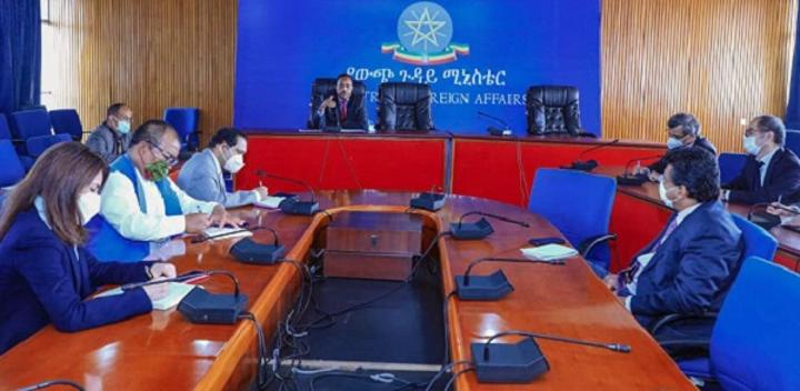 State Minister Redwan Briefs Asian Diplomats on Current Critical Affairs in Ethiopia