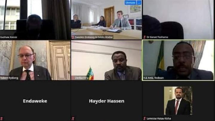 Ethiopia, Sweden Hold Bilateral & Regional Consultations