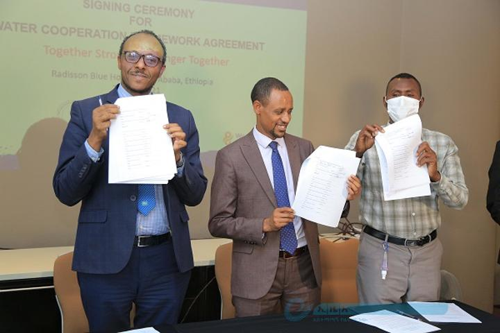 Authority, Afar & Oromia Regions Ink Agreement to work Jointly on Awash River Resource Management