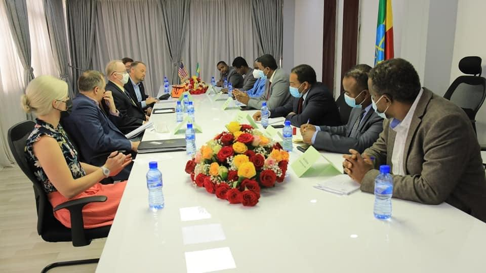 Ethiopia, US Review Partnership in Higher Education