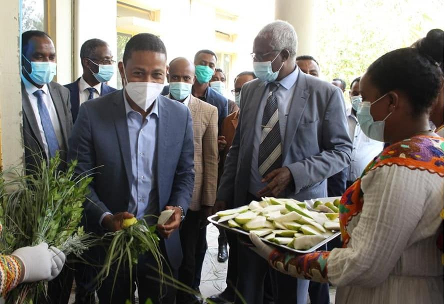 Ethiopia Launches Construction of East African TVET Excellence Center in Kombolicha