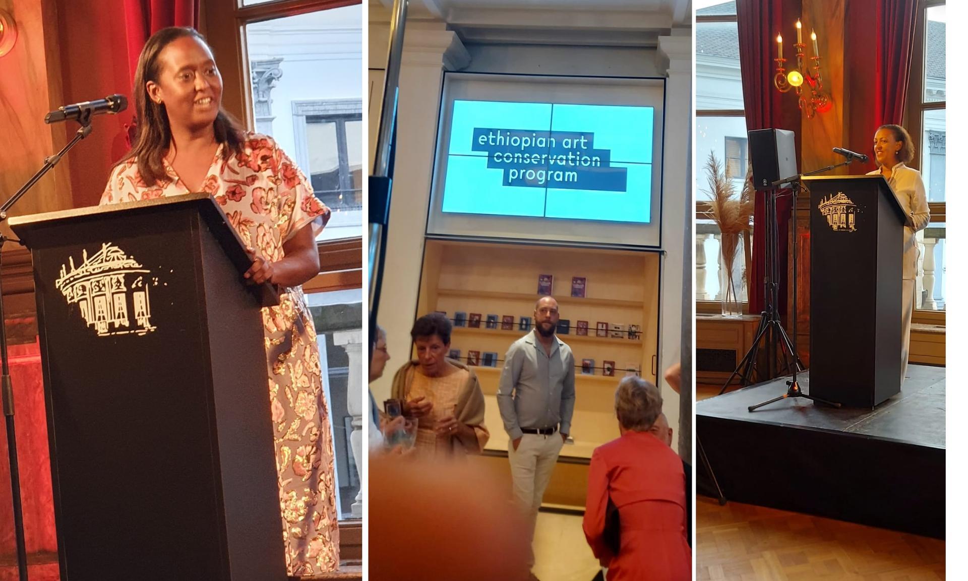 """Ethiopia Participates at """" Art Conservation Program in Ethiopia"""" in Brussels"""