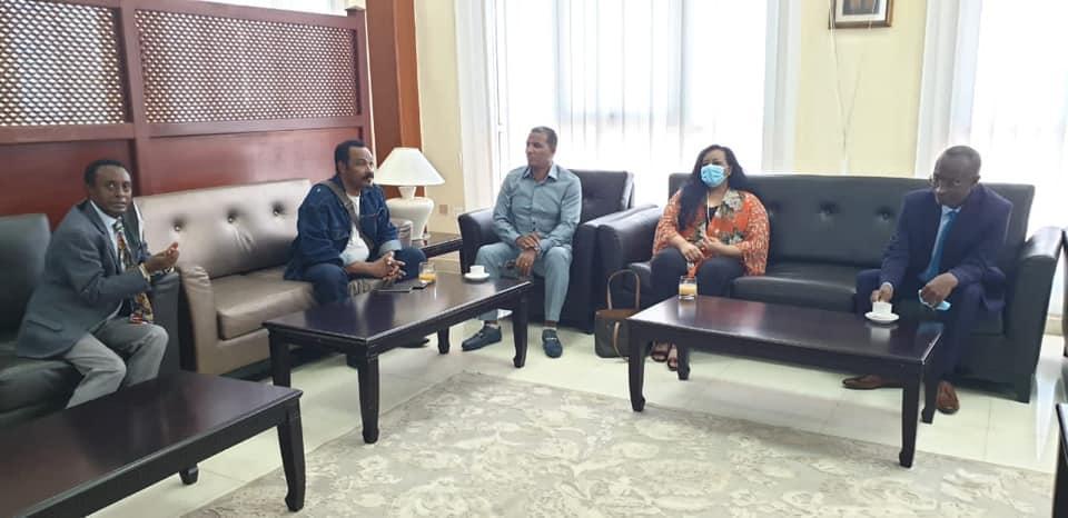Ethiopian Delegation Arrives at Djibouti to Take Part in Ethio-Djibouti Joint Border Meeting
