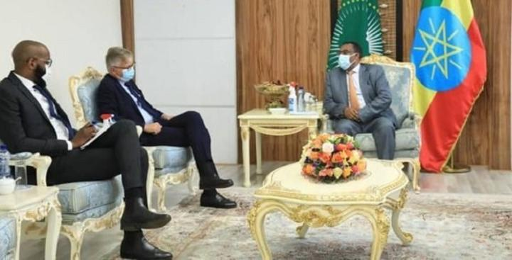 FM Demeke Discusses with UN Under-Secretary-General for Peace Operations