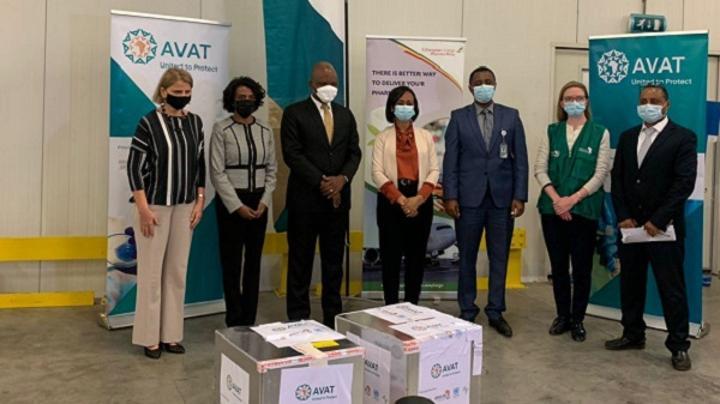 Some 108,000 Johnson & Johnson Single-shot Vaccines Arrive in Ethiopia: AVAT