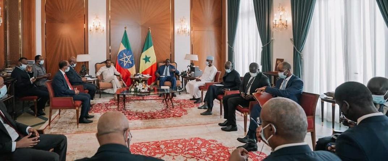 PM Abiy Arrives in Ghana for Official Visit